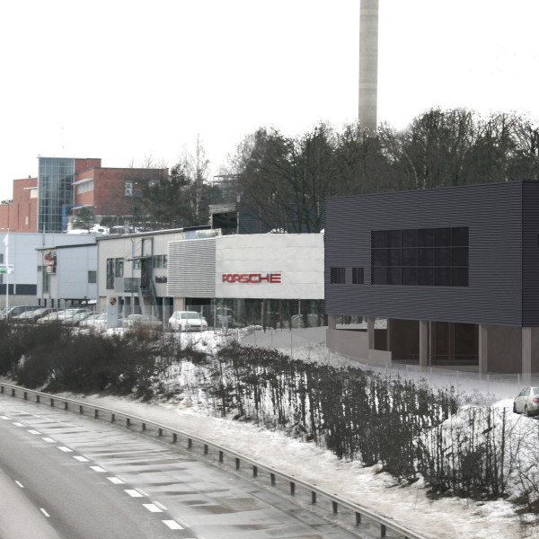 Porschen toimipisteet